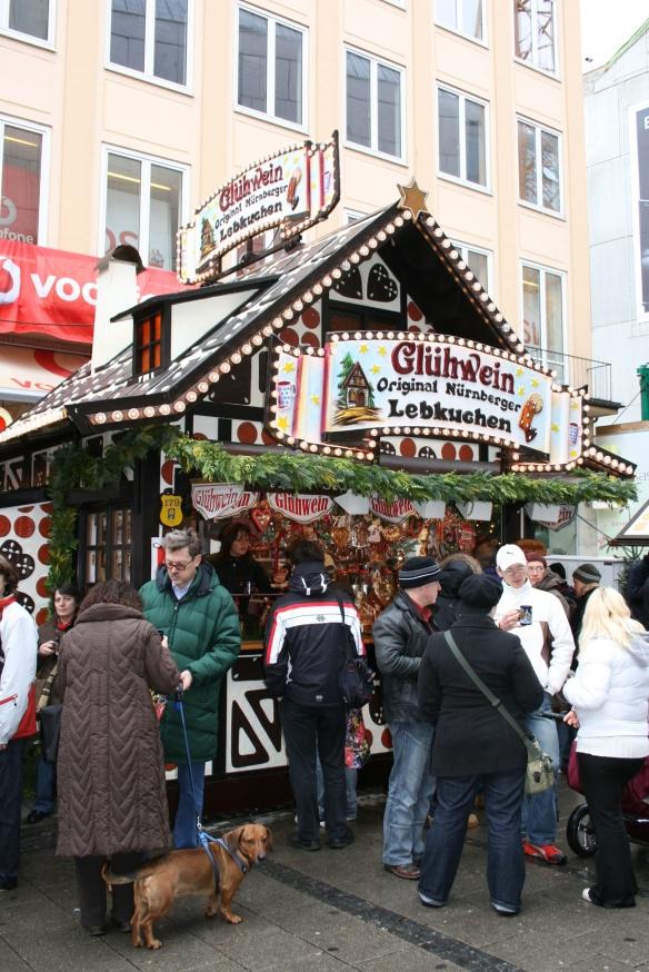 Julemarkedbod, München,